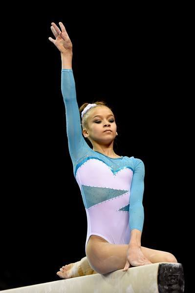 Georgia-Mae Fenton on beam