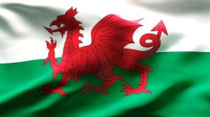 stock-footage-textured-welsh-satin-cotton-flag-with-wrinkles-and-seams