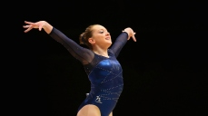 during Day 5 of the 2015 World Artistic Gymnastics Championships at The SSE Hydro on October 27, 2015 in Glasgow, Scotland.